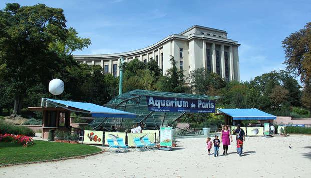 Découvrez l'Aquarium de Paris lors de votre weekend !