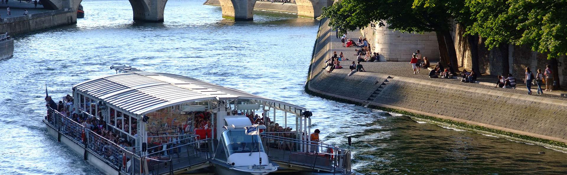 Paris en relax avec balade en bateau sur la Seine