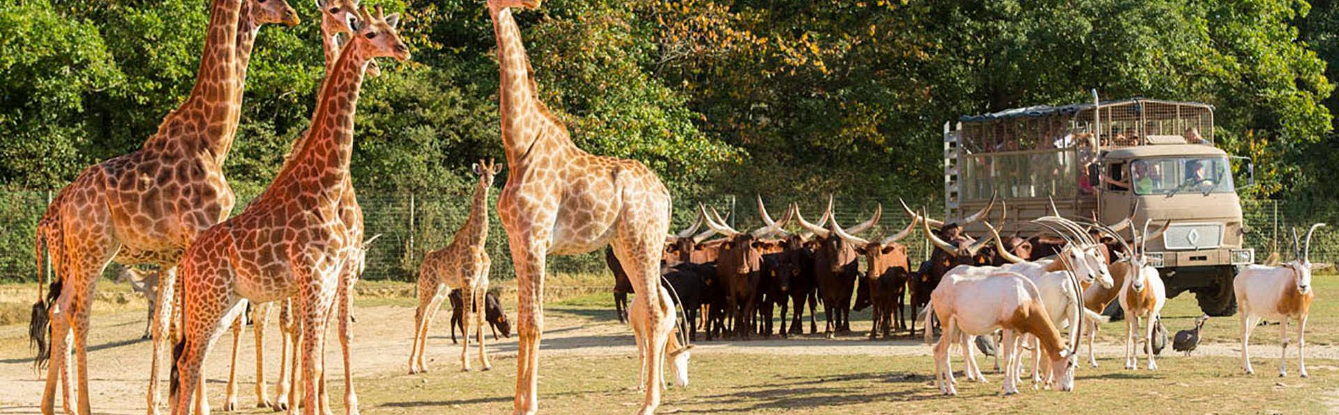 Escapada con entrada al parque zoológico de París