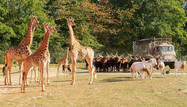 Weekend inclusief toegang tot het Parc Zoologique de Paris