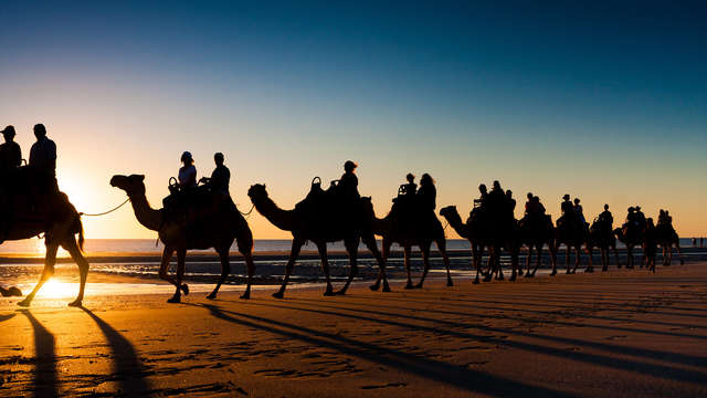 Vive El Rocío y explora Doñana con un paseo en Camello