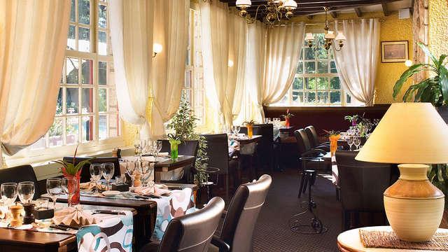 Weekend inclusief diner in het hart van het Bos van Chantilly