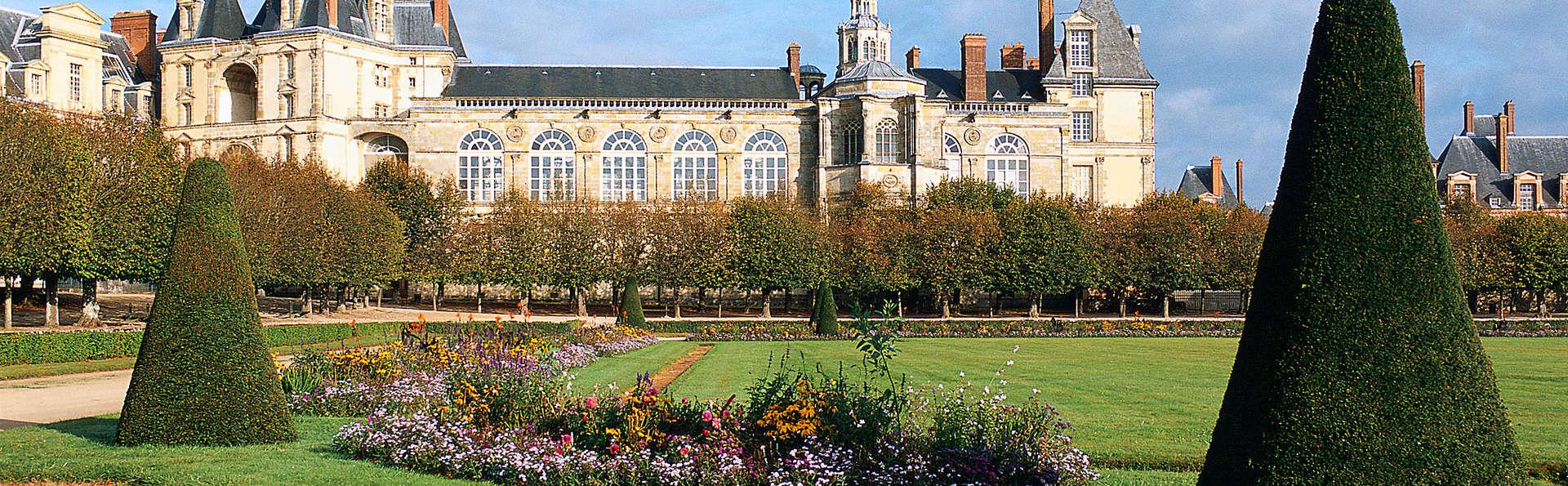 Week-end découverte du château de Fontainebleau