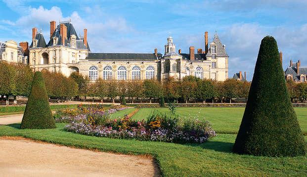 Escapade avec entrée au Château de Fontainebleau