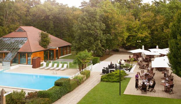 Novotel Fontainebleau Ury - pool