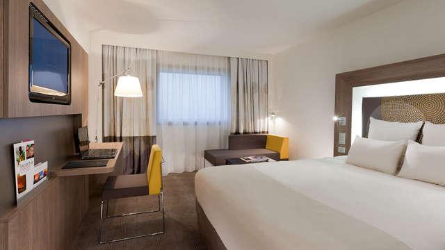 Novotel Fontainebleau Ury - room