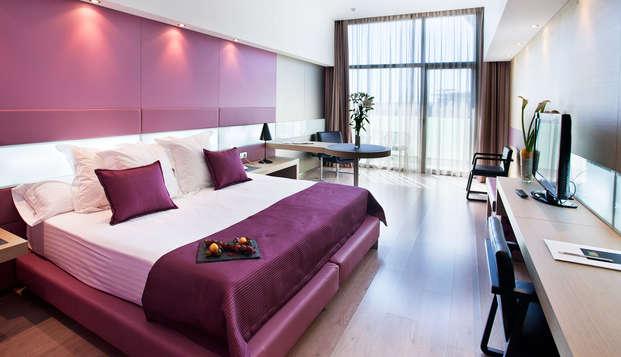 Gastronomía & Relax: habitación deluxe, acceso al spa y cena en Hotel 5*