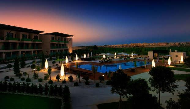 Paz, Naturaleza y Bienestar en este Resort 5* con acceso al spa en Algorfa, Alicante