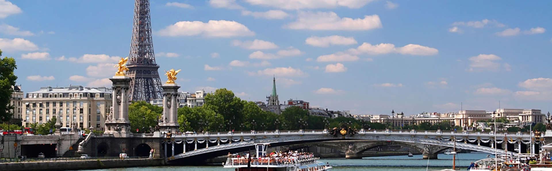 Ontdekkingscruise door Parijs aan boord van een bateau mouche (vanaf 2 nachten)
