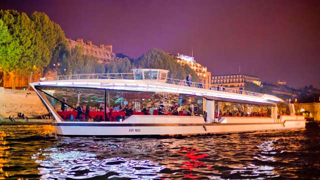Stedentrip met lunch-cruise op de Seine