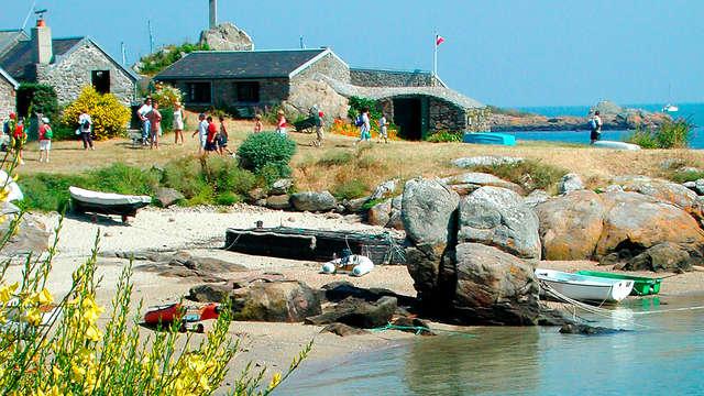 Week-end dans la baie du Mont-Saint-Michel avec traversée de Granville vers les îles Chausey