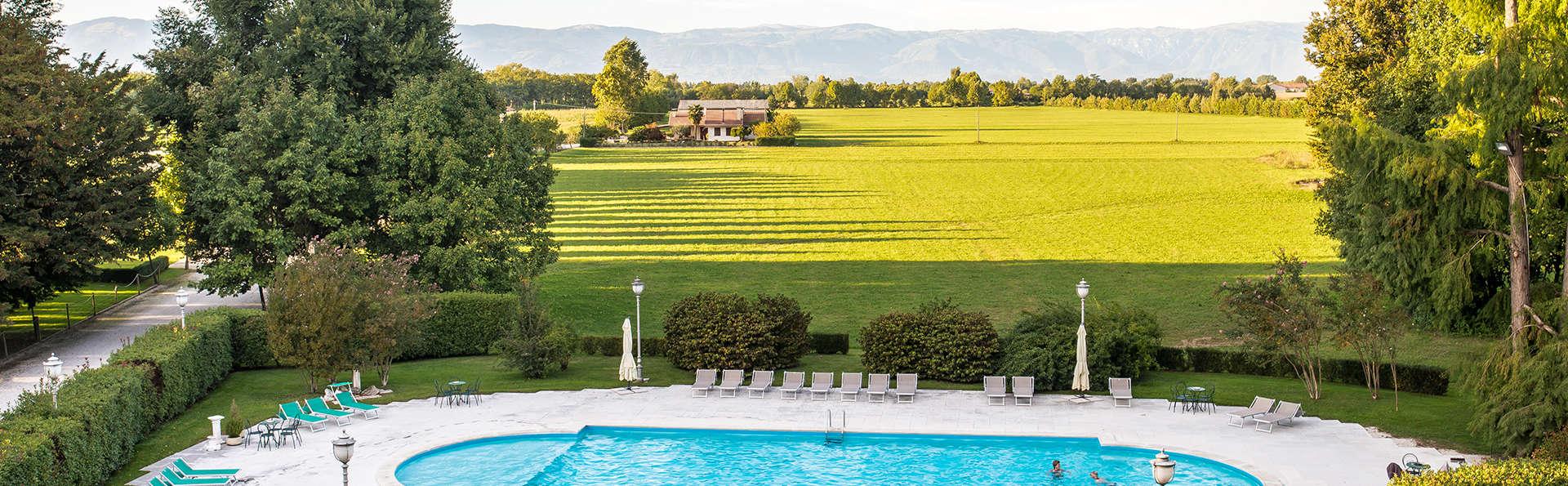 Découvrez le cœur de la Vénétie, entre Vicence et Padoue, entouré d'un charmant jardin