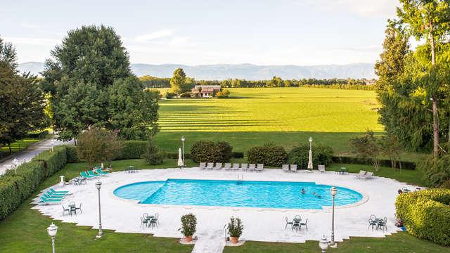 Immersi nel verde in una villa a 4* a Gazzo, nel cuore del Veneto