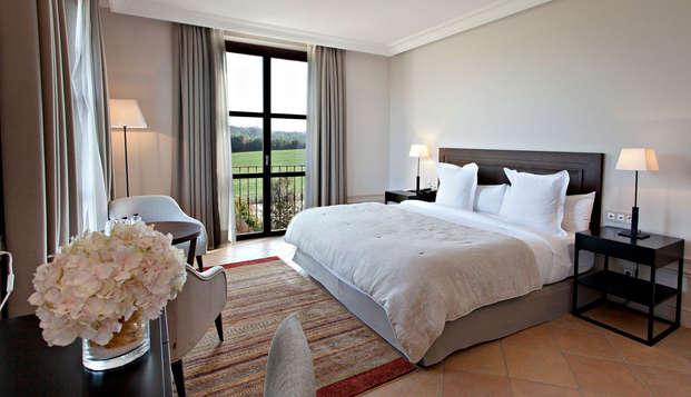 Descanso de lujo en un romántico hotel-masia en Ollers