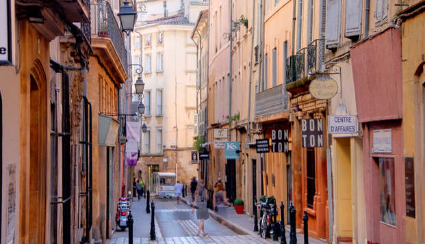 Week-end romantique avec champagne à Aix-en-Provence