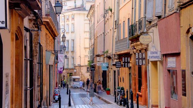 Romanticismo con champán en Aix-en-Provence