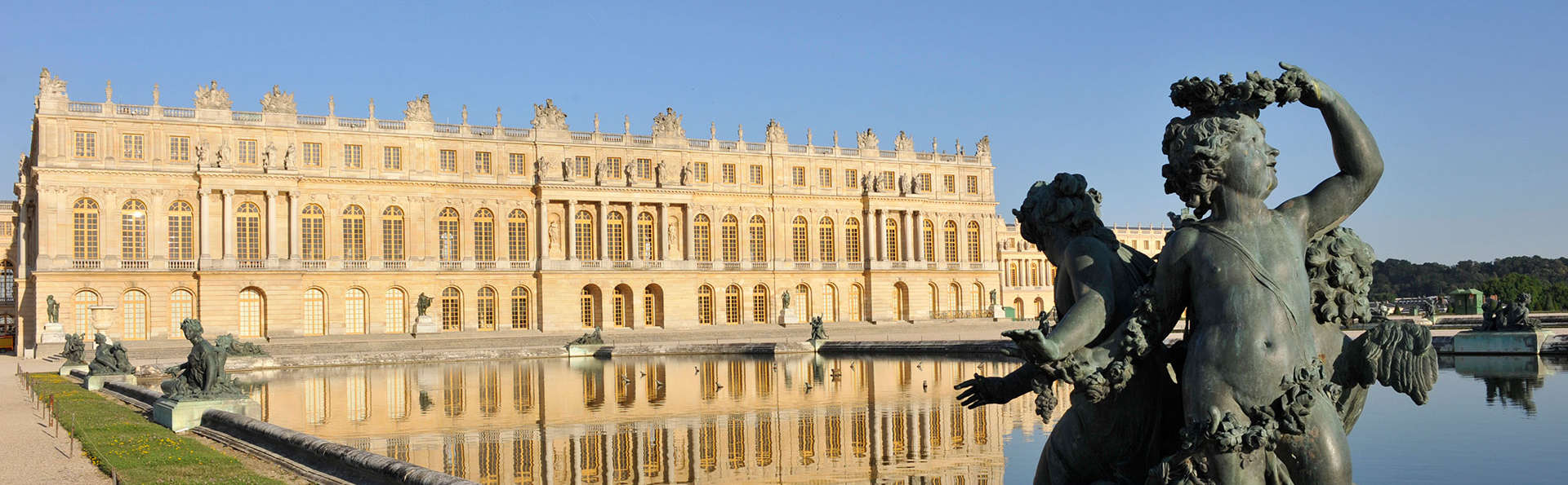 Week-end culturel avec entrée au Château de Versailles (Passeport 2 jours)