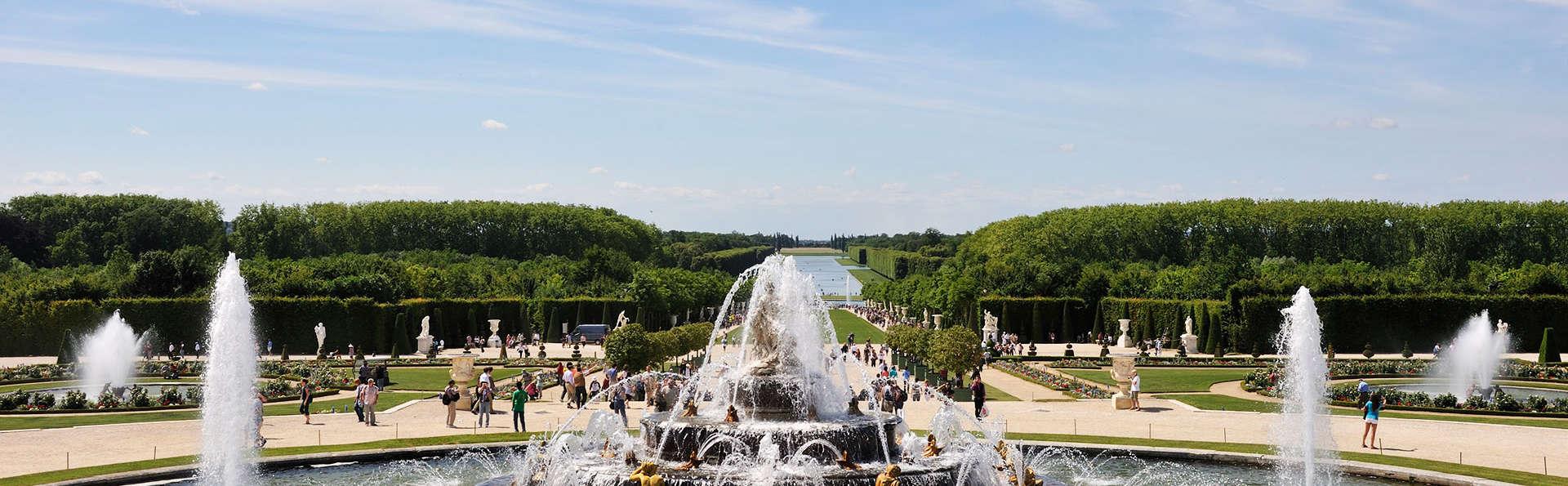 ¡Visitad Versalles con toda tranquilidad! Escapada con acceso al palacio y al espectáculo de las Grandes aguas musicales