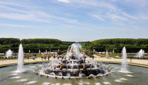Week-end avec entrée au Château et Grandes Eaux Musicales (Pass 2 Jours)