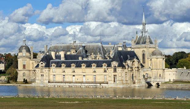 Détente et luxe 4* avec entrée au Domaine de Chantilly