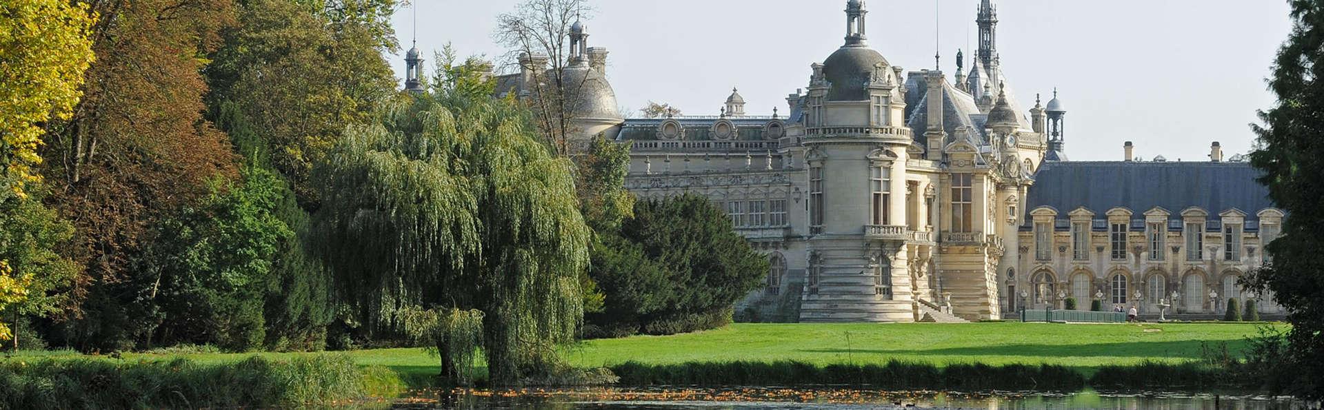Découvrez le château de Chantilly