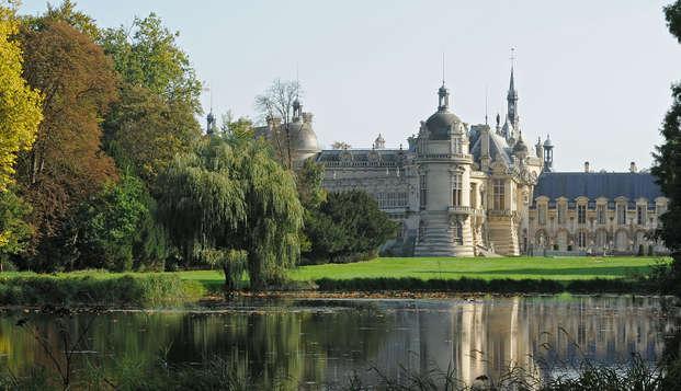 ¡Descubre el castillo de Chantilly, a solo 40 minutos de París!
