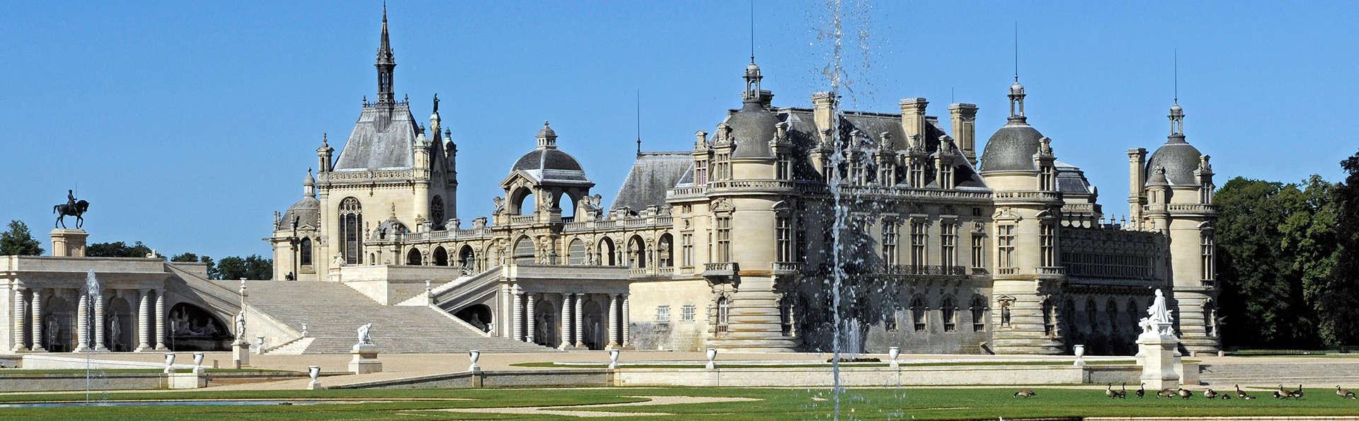 Détente et culture avec visite du Domaine de Chantilly