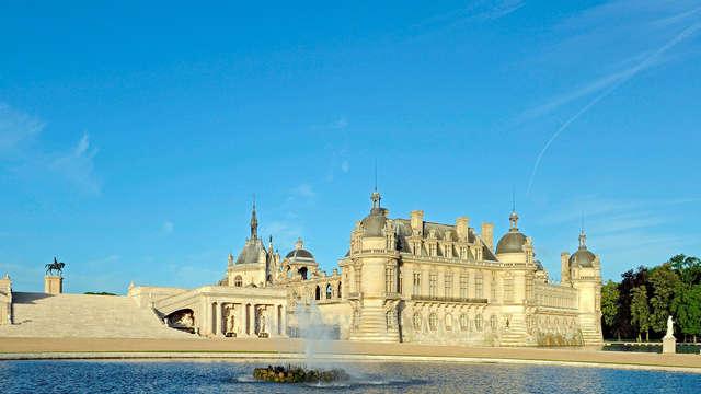 Découvrez le Domaine de Chantilly et profitez d'un dîner-buffet à l'hôtel le temps d'un week-end