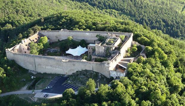 Week-end détente avec visite du Château du Hohlandsbourg