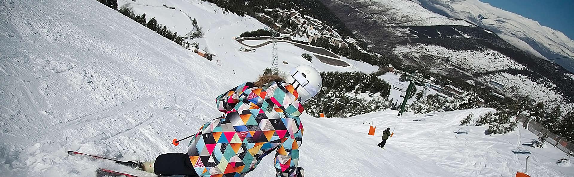 Escapade avec forfait de ski à La Molina