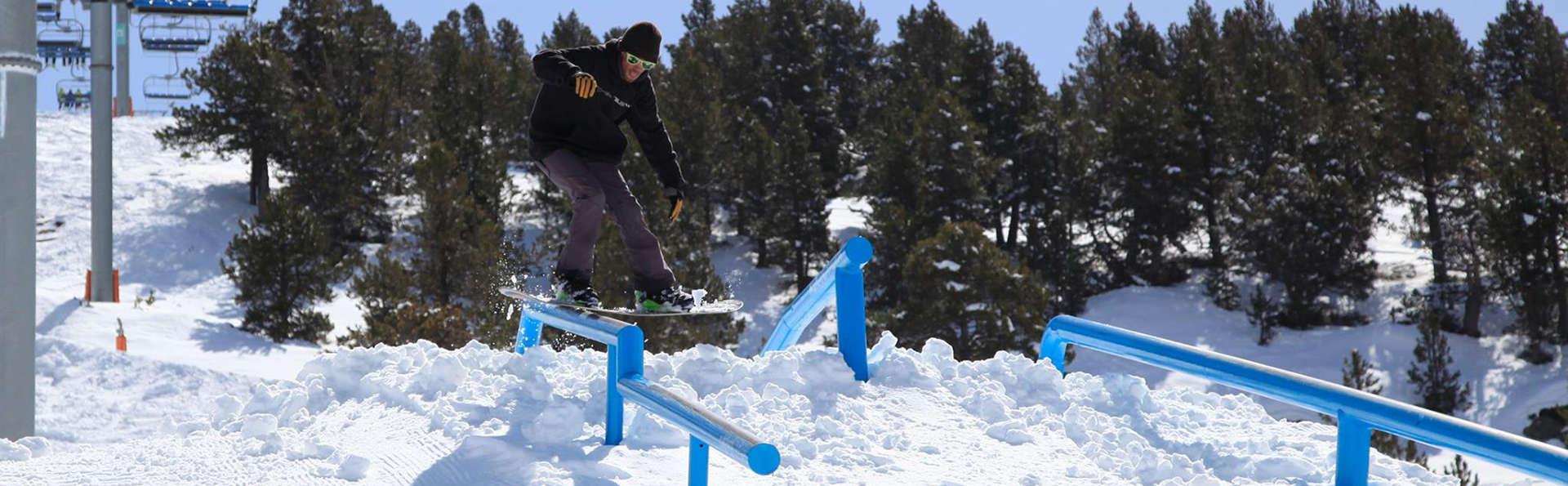 Profitez de la neige d'Encamp, à Andorre