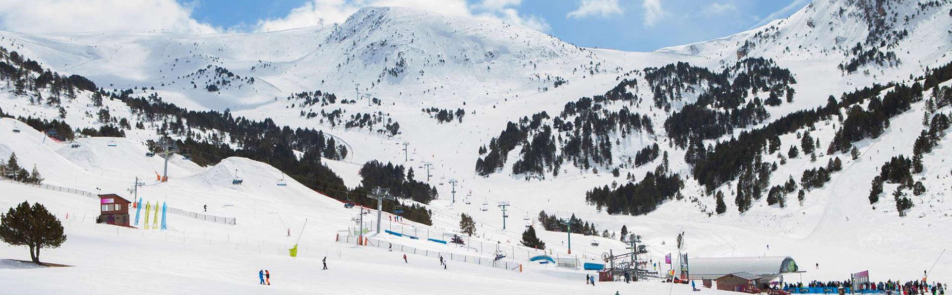 Séjour de ski à Andorre avec un forfait de ski à seulement 2 minutes de la remontée
