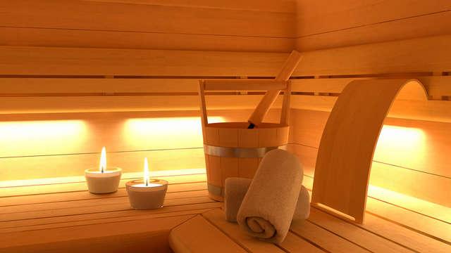 1 acceso a la sauna privado