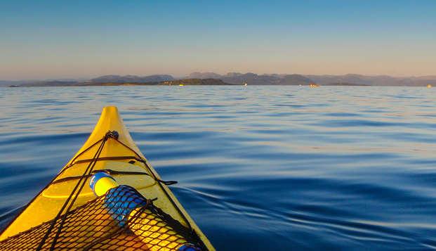 Kayak et plongée sur la Isla de Las Palomas