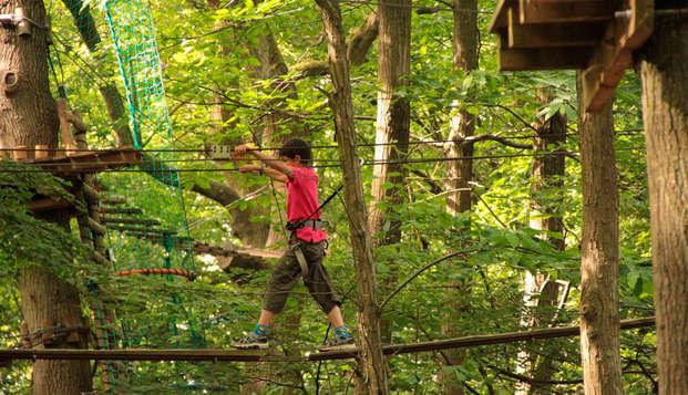 Week-end détente et découverte avec entrée au parc Aventure Land