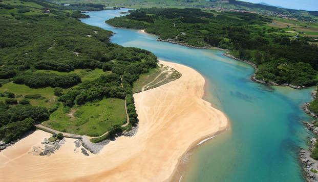 Sabores de Cantabria: Escapada con Cena, zona relax y mucho más junto a la playa