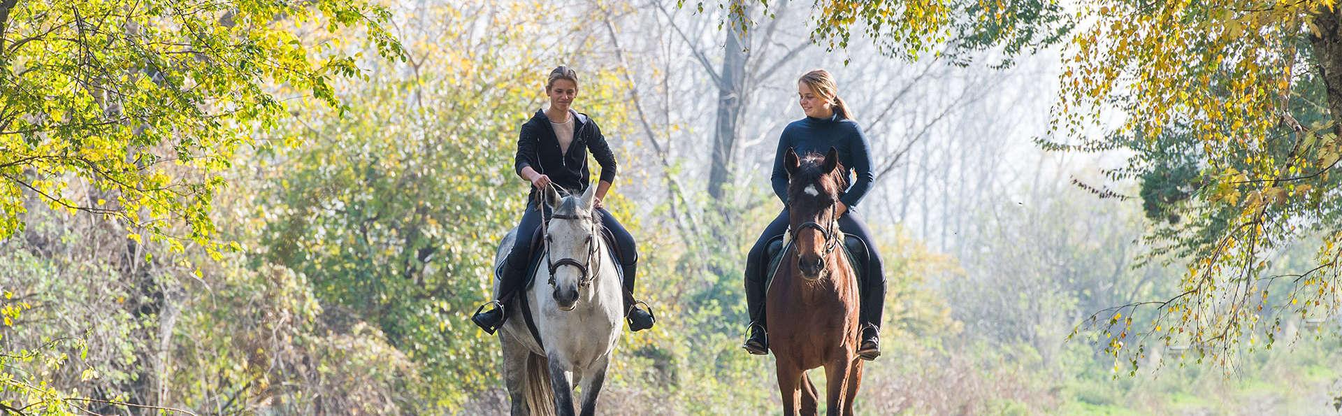 Escapada en Cangas de Onis con paseo a caballo