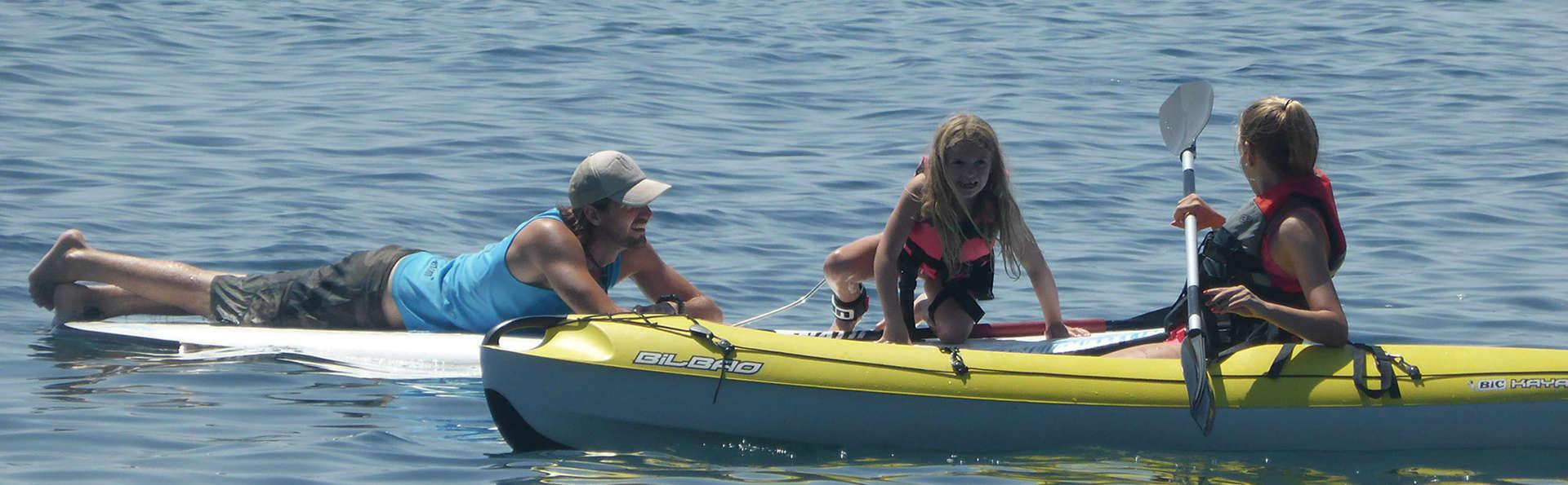 Amusement et divertissement en Kayak double en famille en appartement sur la Costa del Sol
