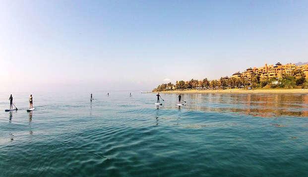 Oferta exclusiva: Escapada con Paddle surf  Estepona (desde 2 noches)