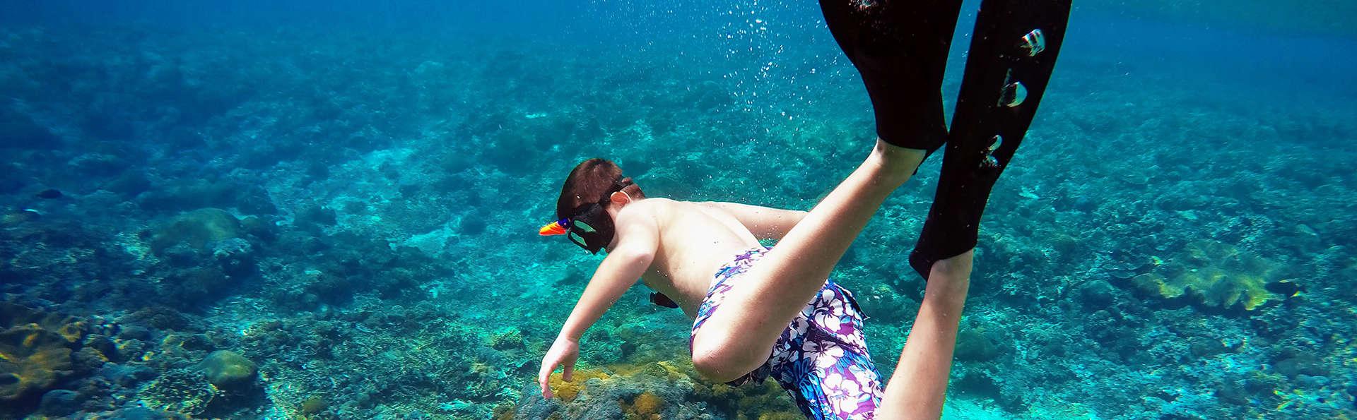 Parcours en kayak, plongée et reportage photo sur la Costa Tropical