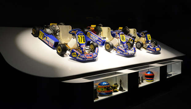 Escapada con entradas al Museo-circuito de Fernando Alonso a un paso de Oviedo