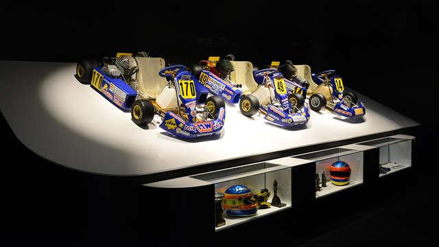 1 Entrada para el Museo Circuito Fernando Alonso para 2 adultos