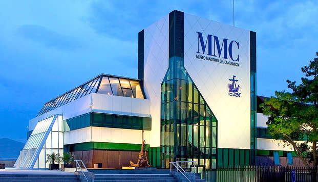 Escapada cultural con Visita al Museo Marítimo del Cántabrico de Santander