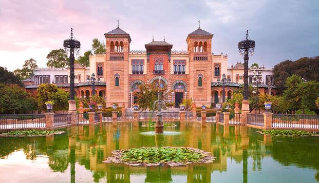 Alójate en unos apartamentos a un paso de Sevilla con visita guiada por el Barrio de Triana