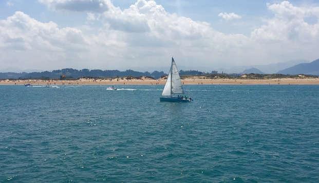Escapada romántica y un paseo en barco por la Bahía de Santander