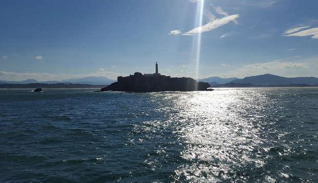Escapada en Liérganes con crucero en barco por la Bahía de Santander