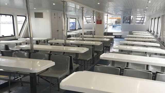 Excursion en bateau pour 2 adultes