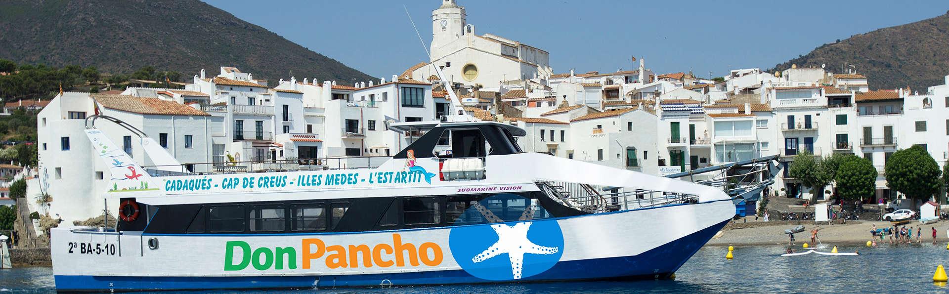 Escapada con cruceros Don Pancho en Roses