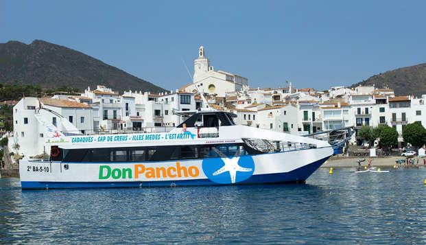 Siente la brisa marina con este paseo en barco por el Mediterrano