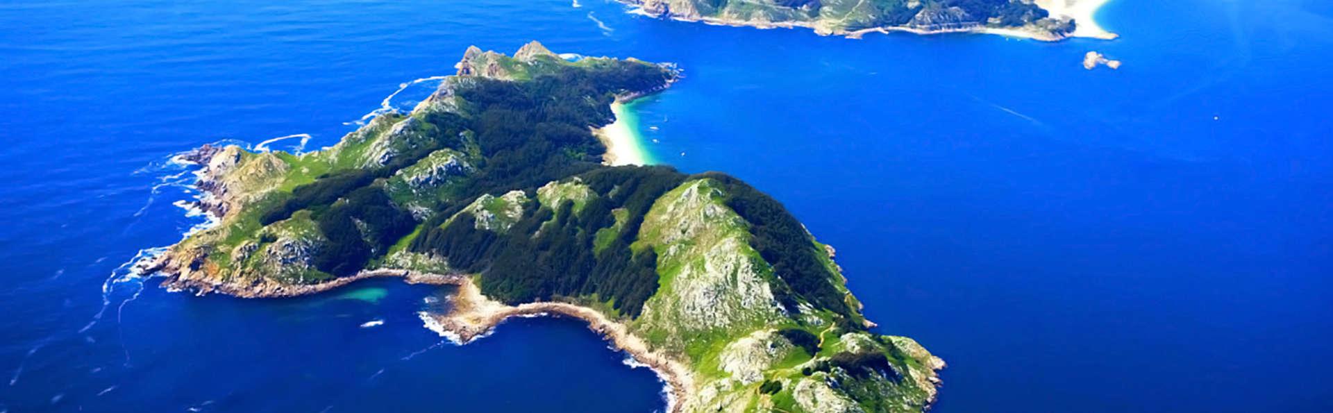 Escapada en O Grove con Crucero en barco a las Islas Cíes